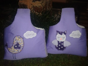 Goodie bag handmade-aplikasi owl-bird
