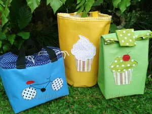 "Lunch bag tabung, kotak, ""paper bag"""