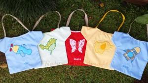 Goody bag baju aplikasi