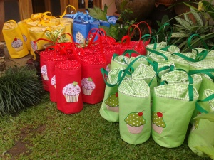 Luch bag tabung aneka warna