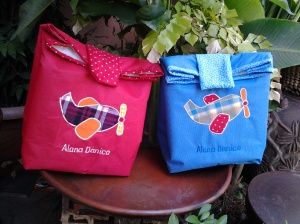 Paper bag handmade-aplikasi transportasi
