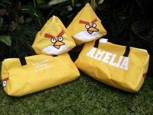 Goody bag Angry bird kuning
