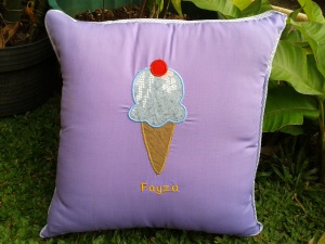 bantal handmade ice cream