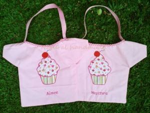 Goody bag handmade-baju-cupcake