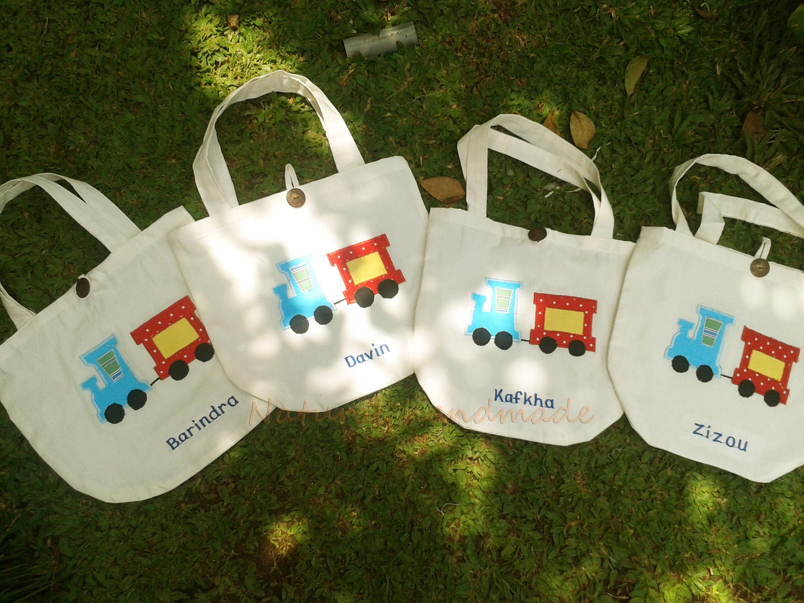 Goody bag handmade blacu-kereta
