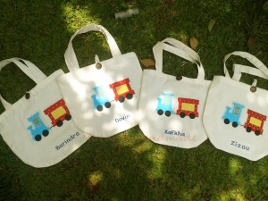 Goody bag handmade blacu-kereta