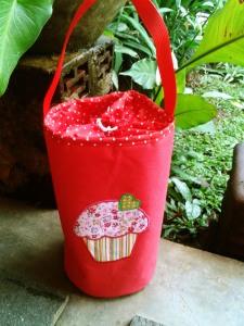 Lunch bag/tas makanan handmade