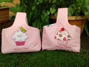 Goody bag keranjang handmade- cupcake