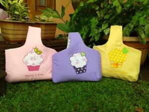 Goody bag handmade-Keranjang cupcake