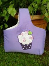 cupcake ungu