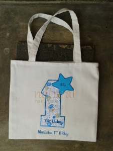 Goody bag biru