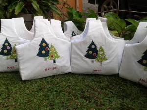 Goody bag keranjang - pohon 1