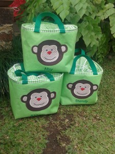 Lunch bag handmade-kotak