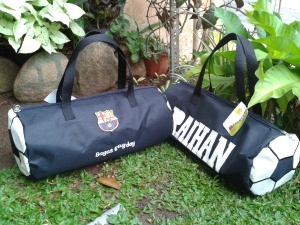 "Sport Bag ""Bola"" Aneka warna"