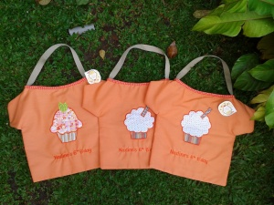 Goody bag handmade-cupcake