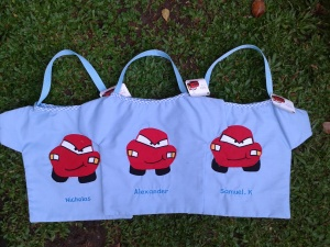 "Goody bag handmade ""CARS"""