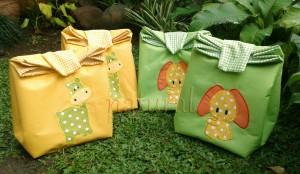 Paper Bag handmade-aplikasi binatang