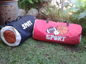 "sport bag handmade ""american football"""