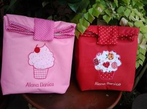 Paper bag handmade-cupcake