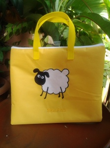 Gadget Bag- Sheep