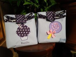 lunchbag Paper bag-cupcake lolypop