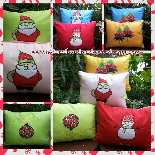Bantal souvenir natal-merry christmas