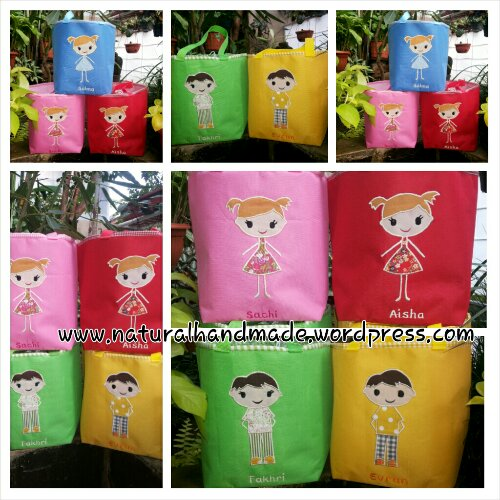 Goodie bag lunch bag kotak boy and girl series