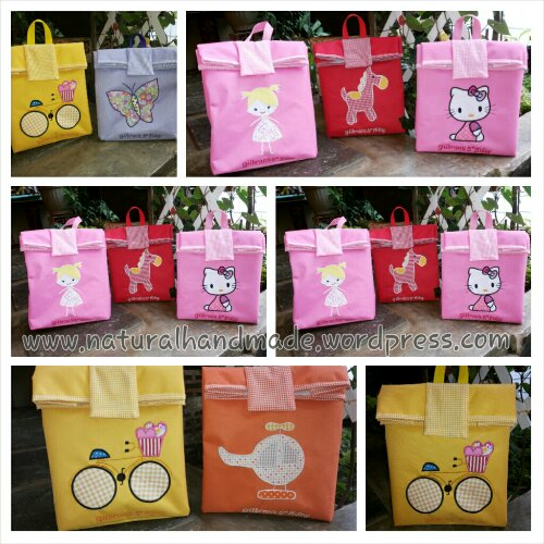 Lunch bag paper bag aneka aplikasi