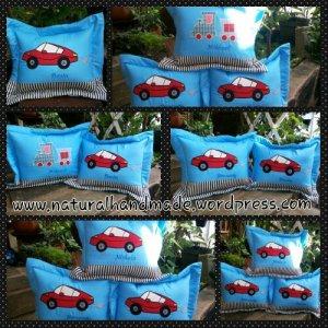 souvenir bantal ulang tahun-transportation series