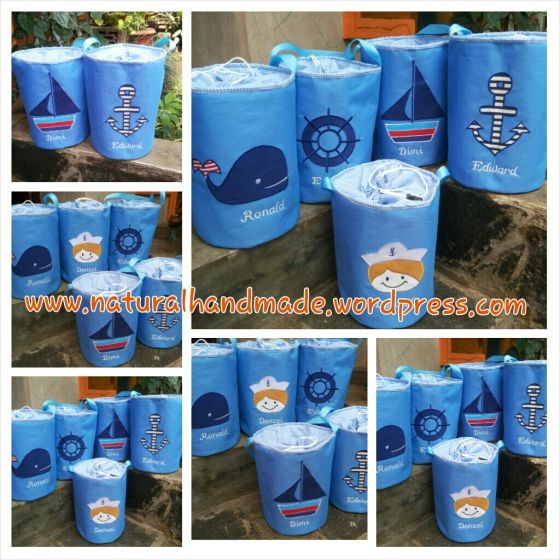 Lunchbag tabung sailor series
