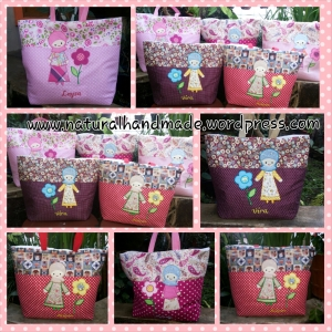 Goodie bag Handmade tote katun