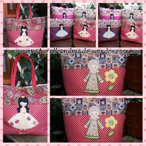 Goodie bag katun- princess