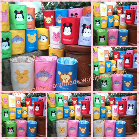 Lunch bag tabung disney tsum tsum