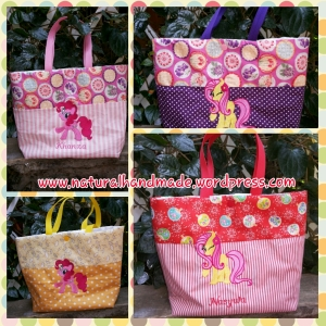 Goodie bag ulang tahun tote katun little pony