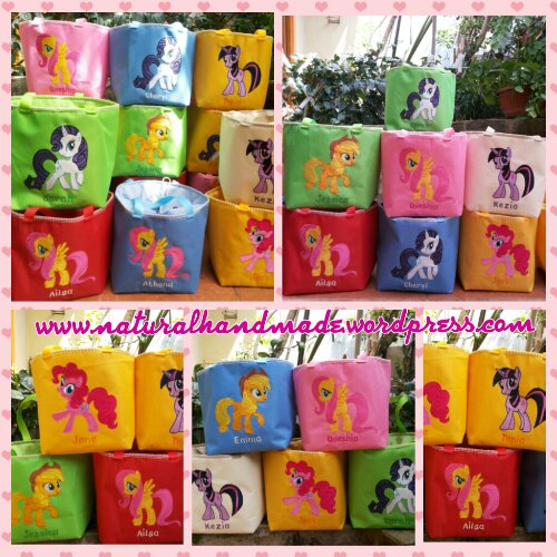 Lunch bag kotak little pony