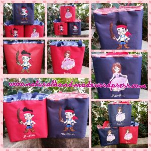 Lunchbag kotak sofia the first dan jack neverland