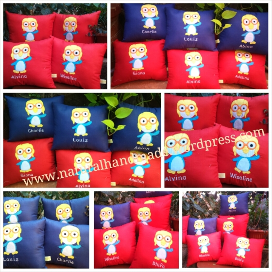 Goodie bag bantal pororo