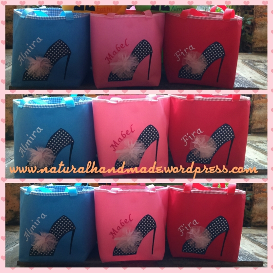 Goody bag ulang tahun lunch bag stiletto
