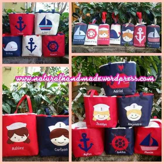 goodie bag ulang tahun lunch bag nautica