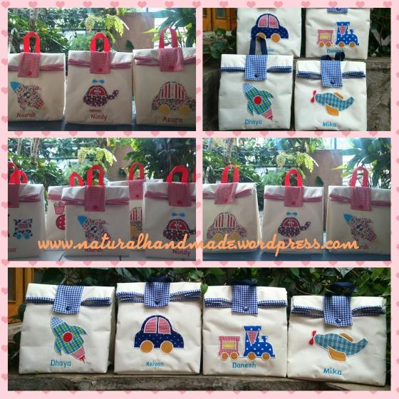 Goody bag ulang tahun anak handmade