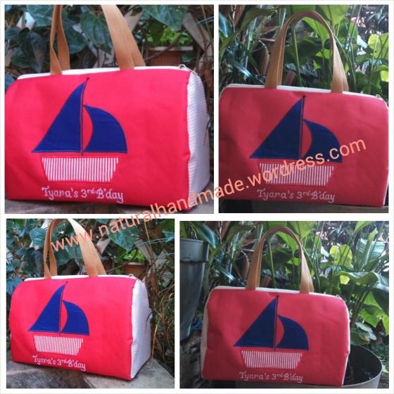 tas ulang tahun mini travel bag