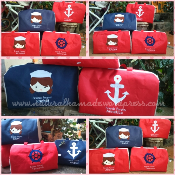souvenir ulang tahun minitravel bag sailor