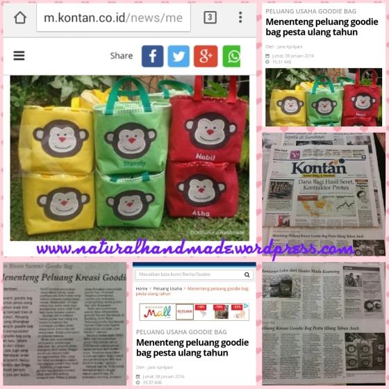 Liputan Kontan untuk natural handmadeLiputan Kontan untuk natural handmade